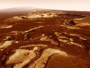 Mars West Holden Crater