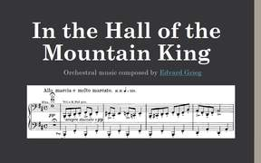 In the Hall of the Mountain King Orchestral Music