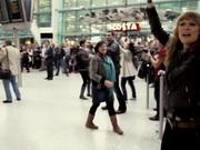 T-Mobile Heathrow Airport Flash Mob