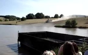 German Tanks Leopard 2A5 Show Deep Wading