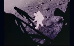 Video of the Moon, Astronauts, Space Shuttles