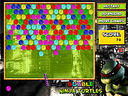 Bubble Ninja Turtles
