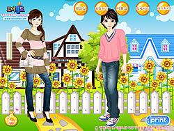 dating dressup games