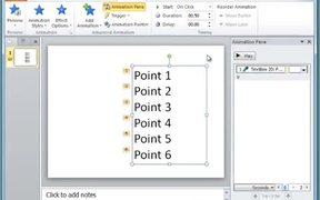 PowerPoint - Set Animations To Play Automatically