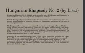 Hungarian Rhapsody No 2