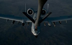 Air Refueling over Afghanistan