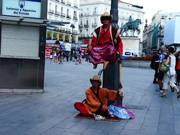 Amazing Human Statue for Two Aladdins