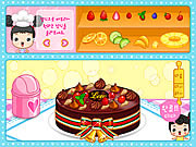 Fruit Cake Decoration