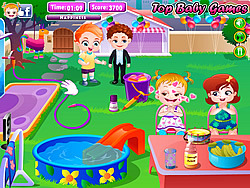 Baby Hazel Backyard Party Game - Play online at Y8.com
