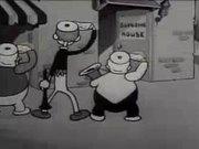 Tom and Jerry (Van Beuren): The Tuba Tooter