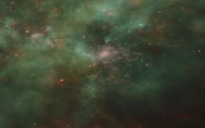 76-Merging galaxies and droplets of starbirth