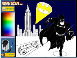 Batman Cartoon Coloring Oyunu Y8 Com Uzerinde Online Oyna