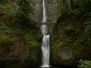 Dreamlike Beauty of Multnomah Falls