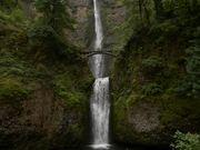 Dreamlike Beauty of Multnomah Falls