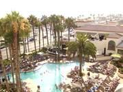 California Hotel Sunset Timelapse