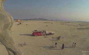 Drone's Eye View of Burning Man 2013