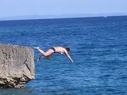 Cliff Diving Fail