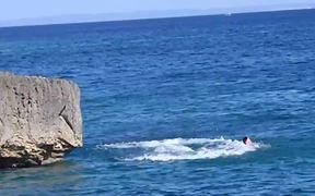 Cliff Diving Fail