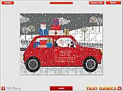 Christmas Taxi Jigsaw