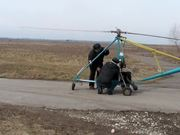 A Homemade Helicopter / Gyrocopter