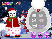 Snow Man Xmas Dress up
