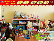 Messy Toys Room