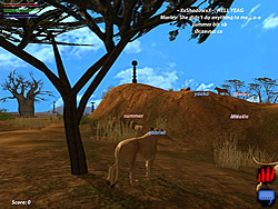 Image of: African Upjerscom Lif Serengetti Game Play Online At Y8com