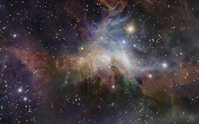 3D animation of the Orion nebula