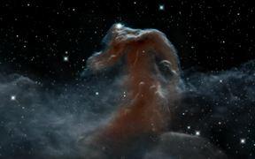 3D visualisation of the Horsehead Nebula