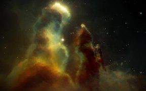 Artist's Impression of the Eagle Nebula