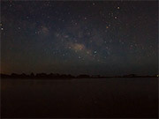 Milky Way with Fire Flies