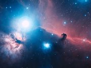 Zooming in on the Horsehead Nebula (3D)