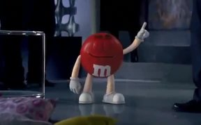 M&M's Commercial: Just My Shell