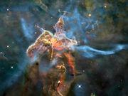 3D trip into the Carina Nebula