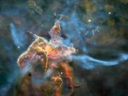 3D trip into the Carina Nebula