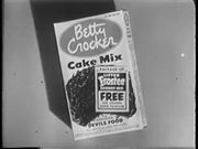 Betty Crocker Cake Mix (1951)