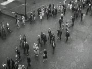 Crowded City Streets 1937