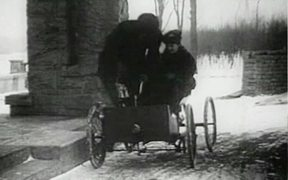 First Automobile - Henry And Clara Ford