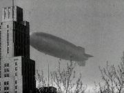 Hindenburg Over New York City