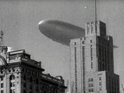 Hindenburg Over New York City