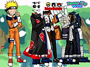 Naruto and Frieds Dress Up