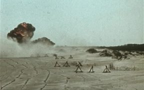 Pounding The Beach With Bombs And Rockets