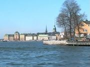 Stockholm Waterfront From a Ferry