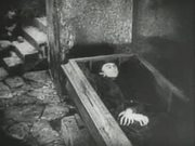 Nosferatu: Hutter Visits Count Orlock's Coffin