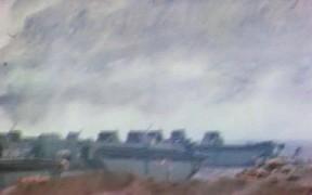 Iwo Jima - Marines Move Inland