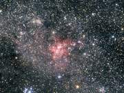 Zooming in on Mystic Mountain in the Carina Nebula