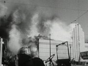 Big Fire in San Francisco 1955