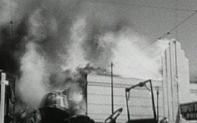 Big Fire in San Francisco 1955