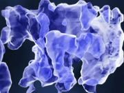Dark matter filaments (artist's impression)