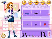 Guitar Girl Dressup